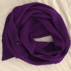 Purple Jcrew Scarf